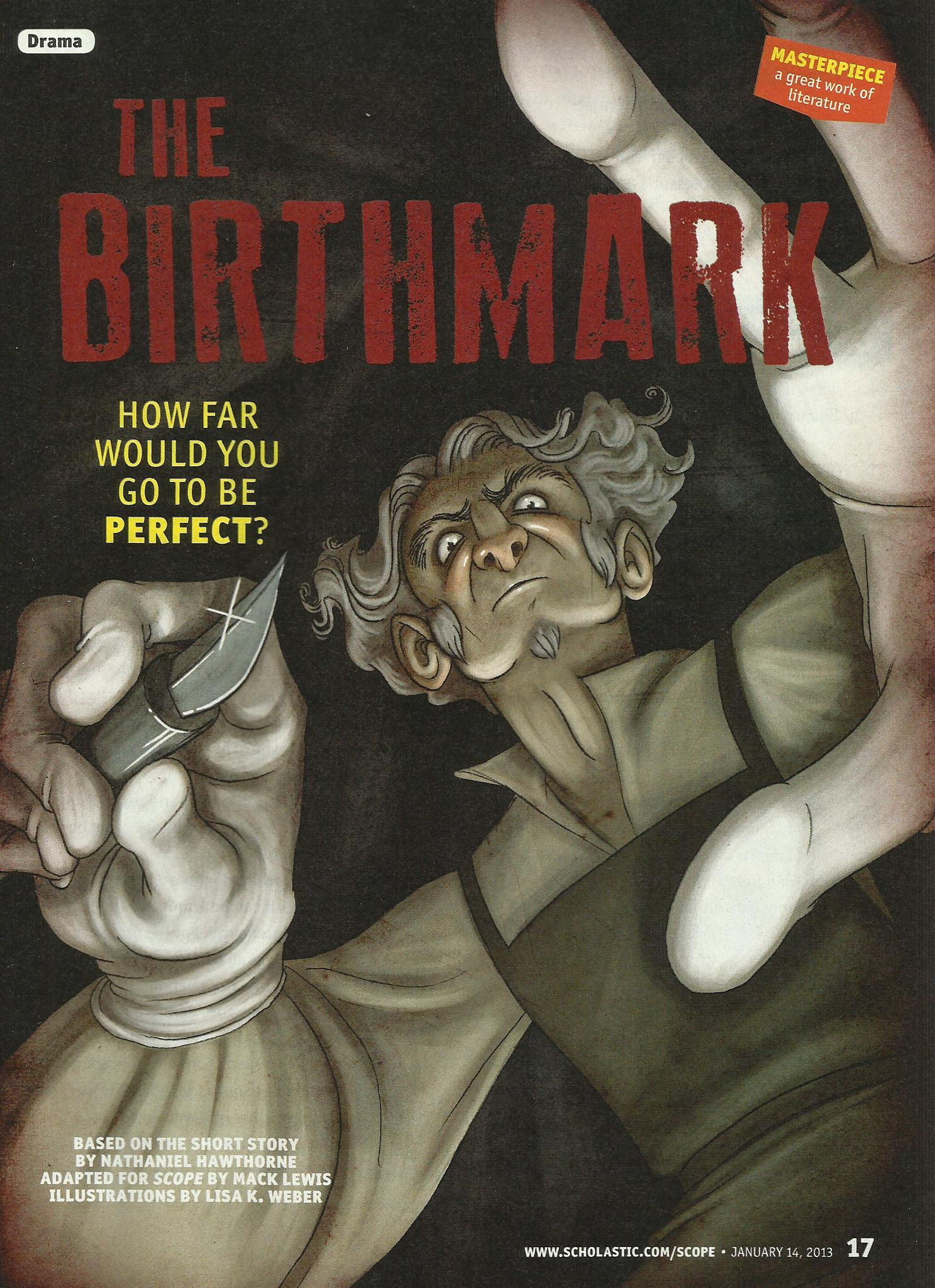 The Mad Scientist in The Birthmark by Nathaniel Hawthorne (1843 ...